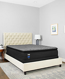 "Sealy Premium Posturepedic Beech St 13.5"" Plush Euro Pillow Top Mattress Collection"