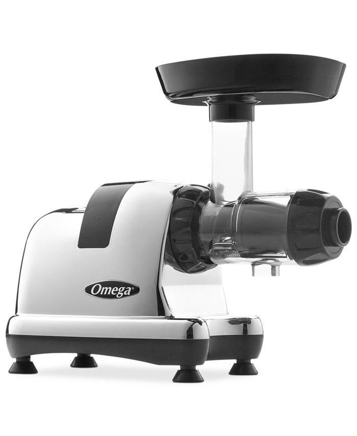 Chef'sChoice® - 8008 Masticating Juicer, Chrome Slow Speed Nutrition Center