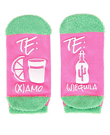 MeMoi Te Amo Tequila Women's Low Cut Socks