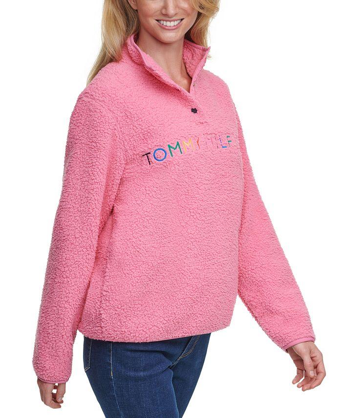 Tommy Hilfiger - Rainbow Logo Sherpa Jacket