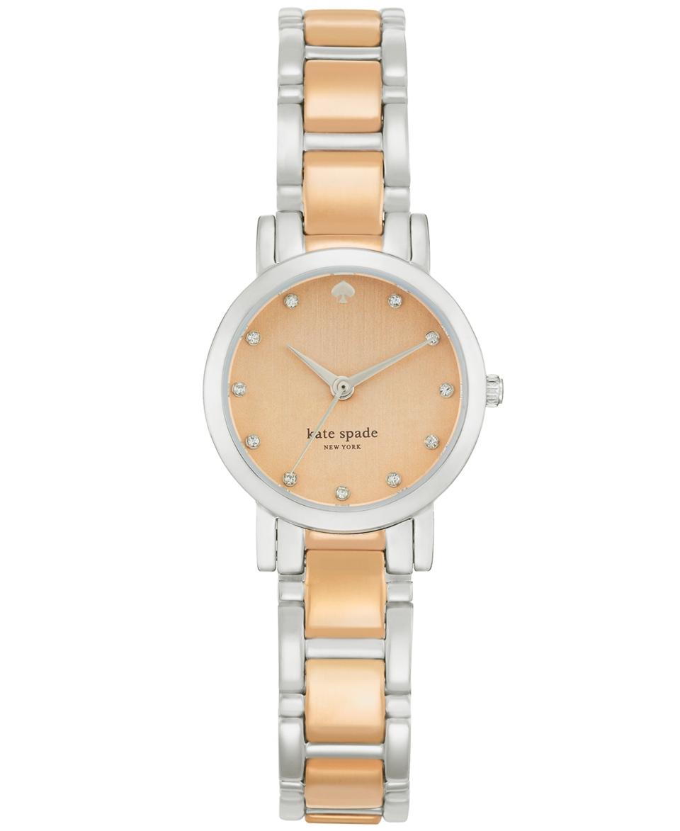 kate spade new york Watch, Womens Gramercy Two Tone Bracelet 24mm 1YRU0259   Watches   Jewelry & Watches
