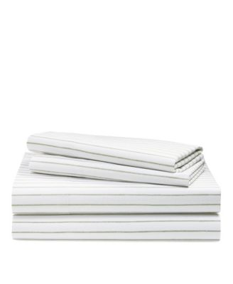 Spencer Striped Queen Sheet Set
