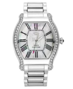 Juicy Couture Watch, Women's Dalton Stainless Steel Bracelet 46x36mm 1901085