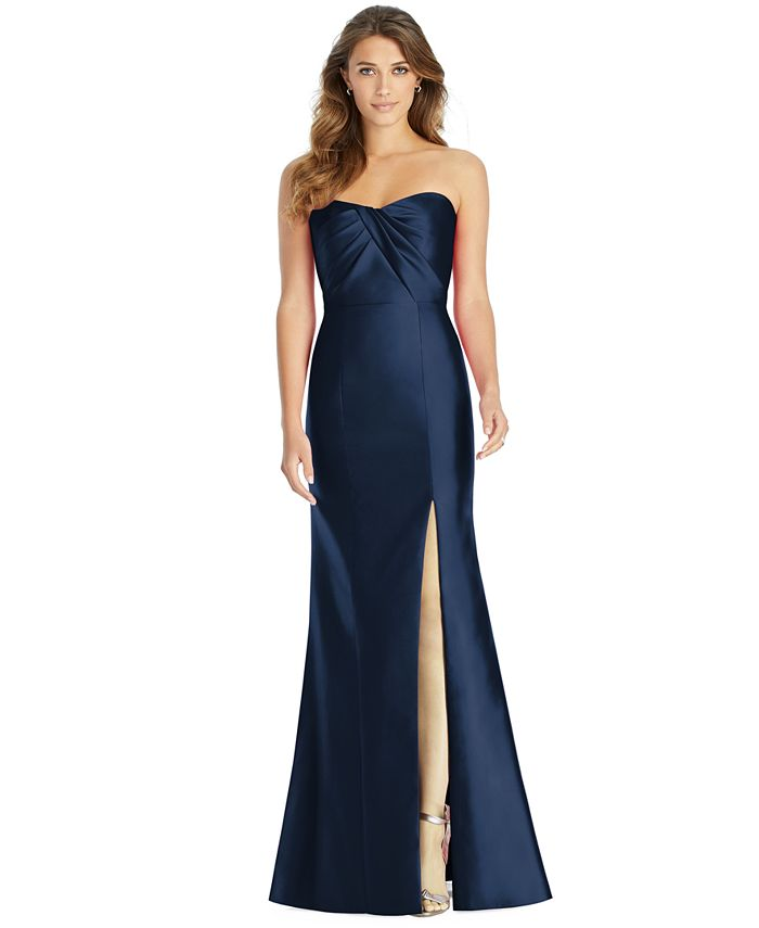 Alfred Sung - Strapless Sweetheart Gown