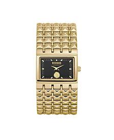 Versus by Versace Women's Velasca Gold Tone Stainless Steel Bracelet Watch 49mm