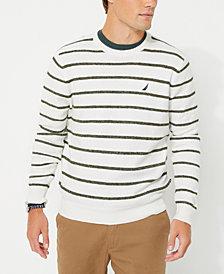 Nautica Men's Striped Crewneck Sweater
