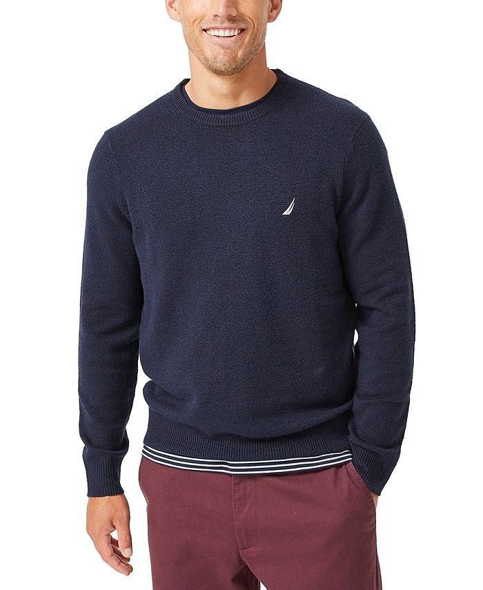 Nautica - Men's Sustainable Crew Sweater