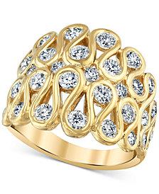 Diamond Loop Statement Ring (1-3/4 ct. t.w.) in 14k Gold