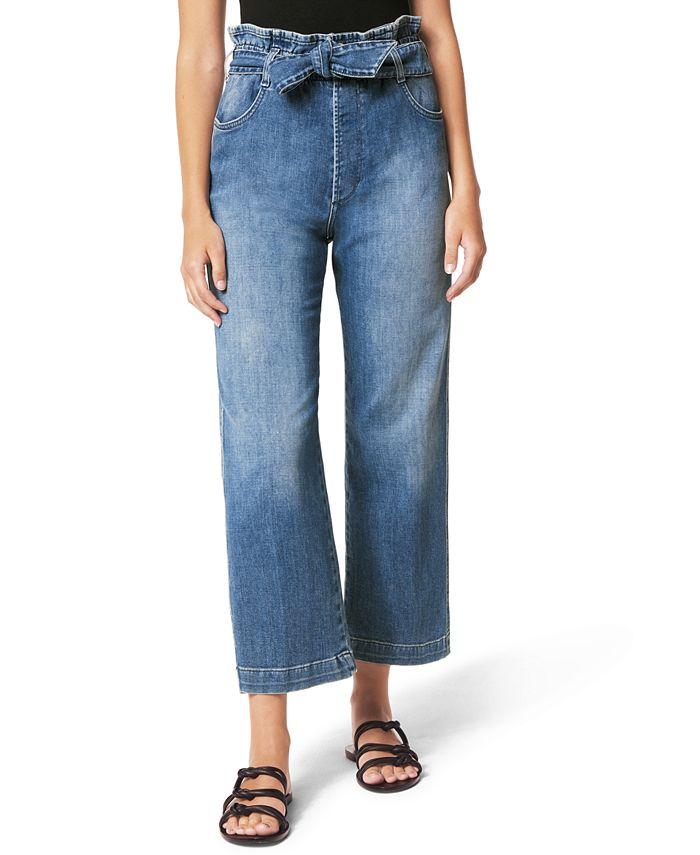 Joe's Jeans - Paperbag Wide-Leg Jeans