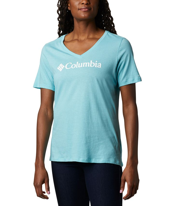 Columbia - Plus Size Relaxed V-Neck T-Shirt