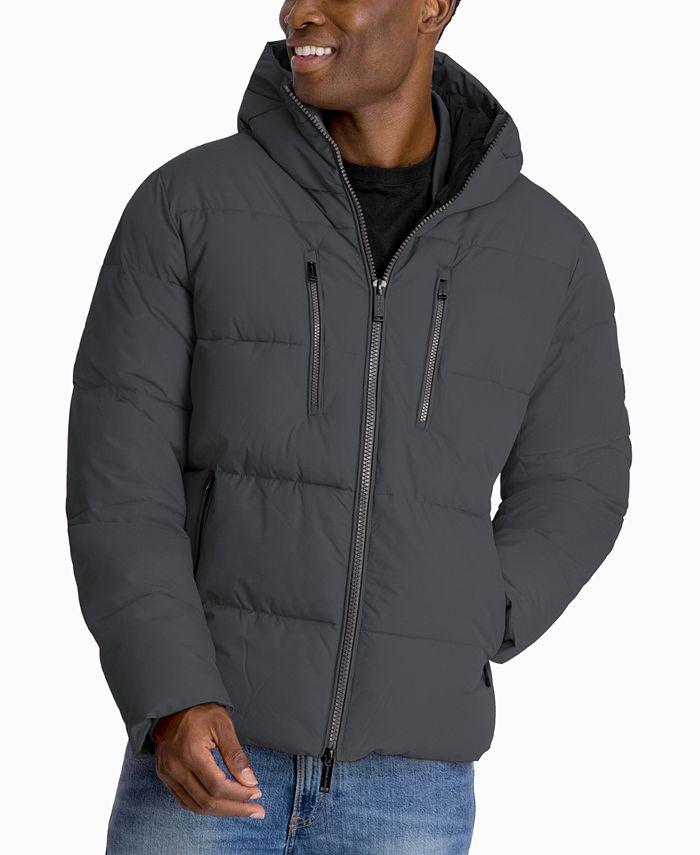 Michael Kors - Men's Norwich Hooded Puffer Hipster Jacket