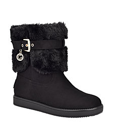 GBG Los Angeles Women's Adlea Cold Weather Winter Boots