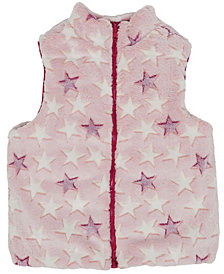 Epic Threads Big Girls Shiny & Faux Fur Reversible Vest