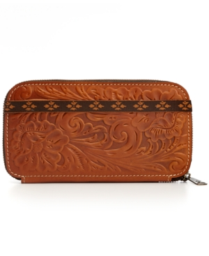 Patricia Nash Tooled Oria Wallet $ 98.00