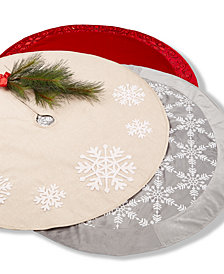 Holiday Lane Tree Skirt Collection, Created for Macy's