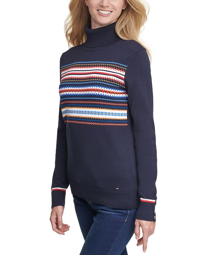 Tommy Hilfiger - Stella Fair Isle Cotton Sweater