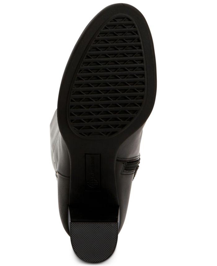 Giani Bernini Adonnys Memory-Foam Dress Boots, Created for Macy's & Reviews - Boots - Shoes - Macy's