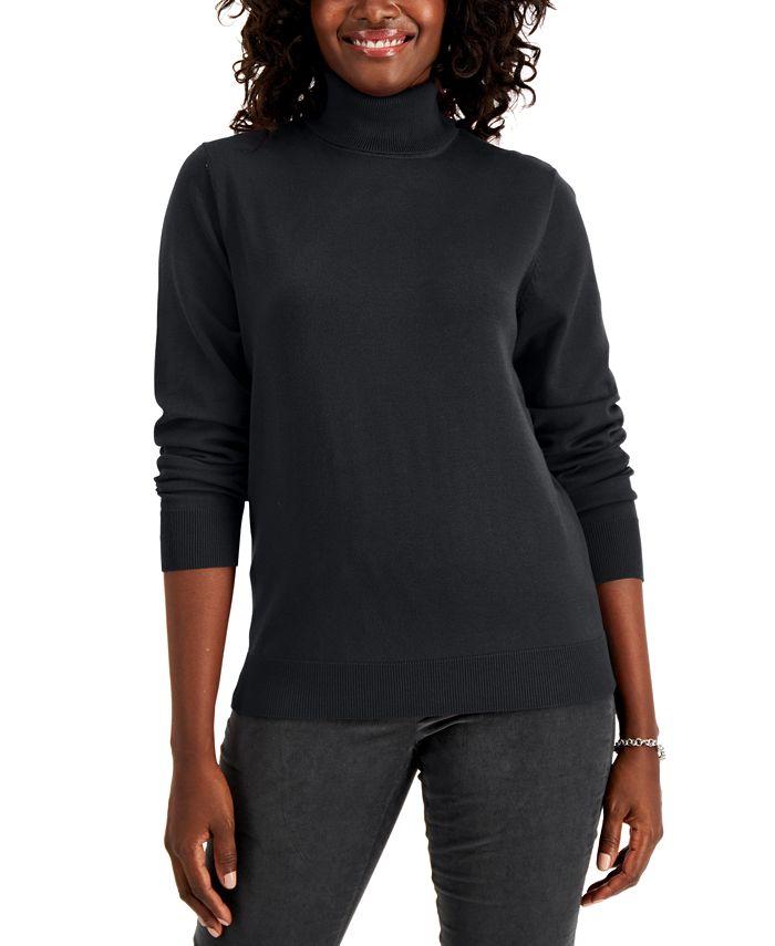 Karen Scott - Turtleneck Sweater