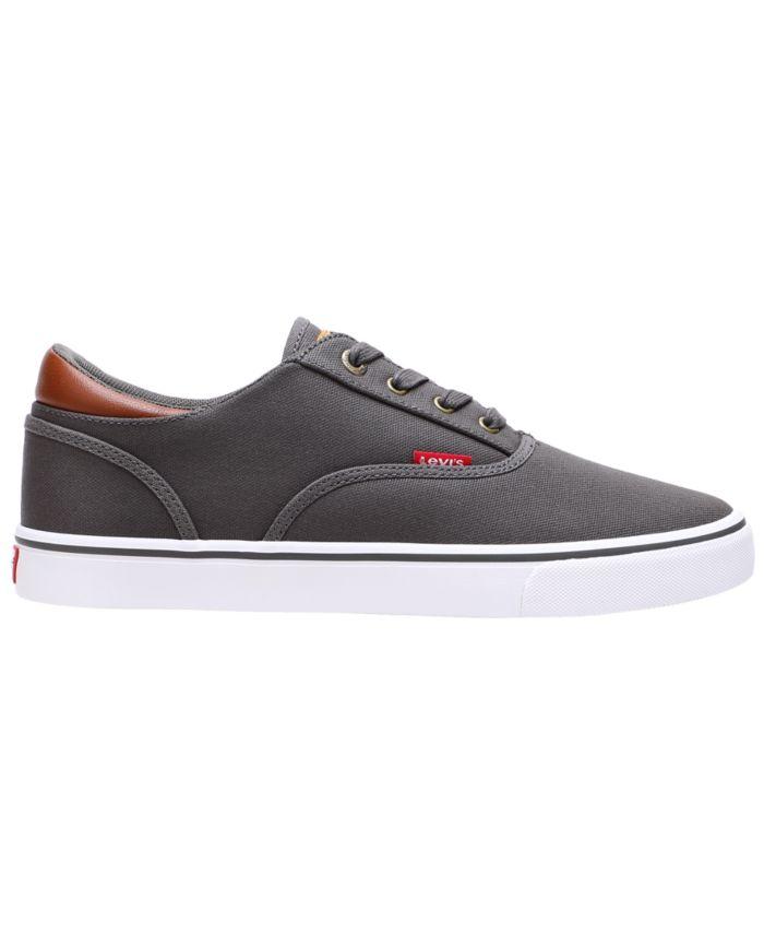 Levi's Men's Ethan Canvas Sneakers & Reviews - All Men's Shoes - Men - Macy's
