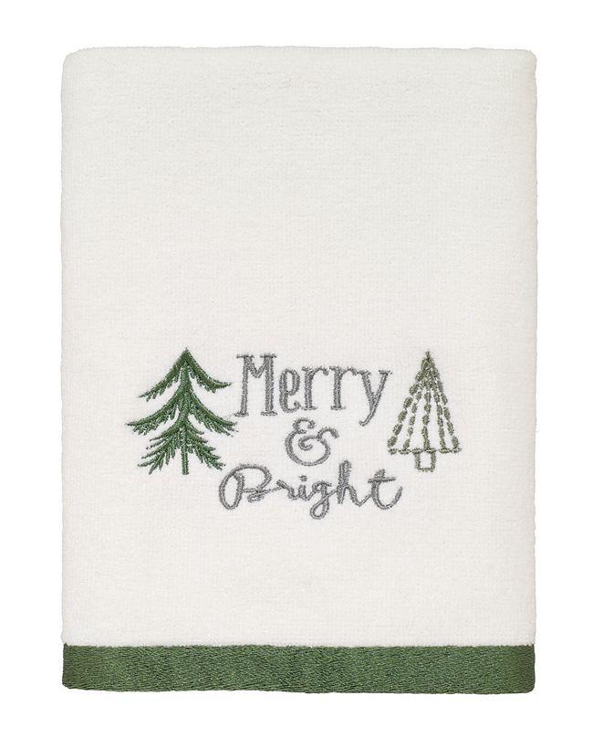 Avanti Christmas Trees Hand Towel