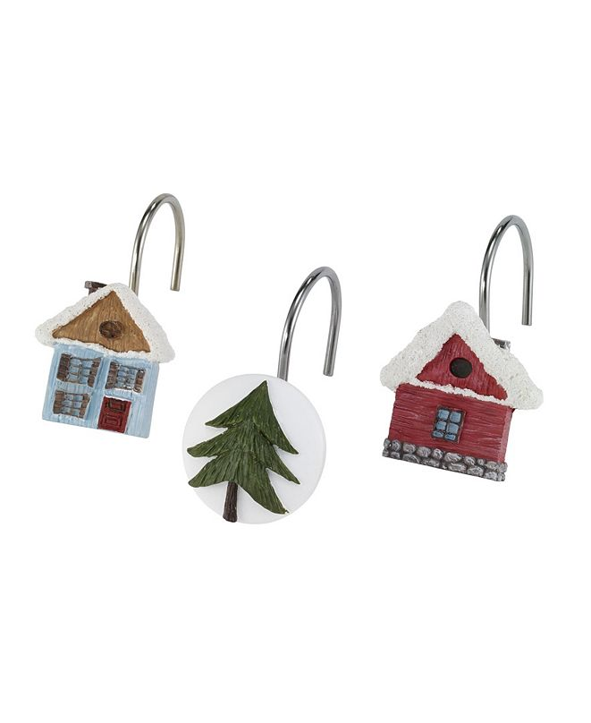 Avanti Christmas Village Shower Hooks