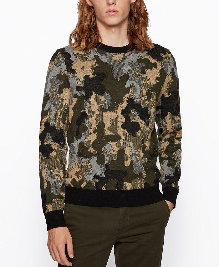 Hugo Boss - Men's Krevenant Regular-Fit Sweater