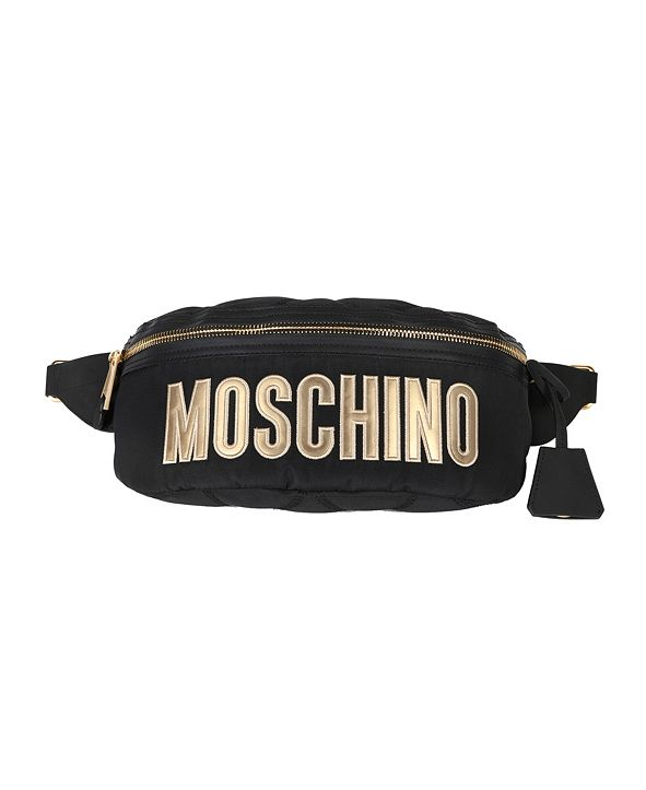 Moschino Women's Nylon Logo Belt Bag (50% Off) -- Comparable Value $595