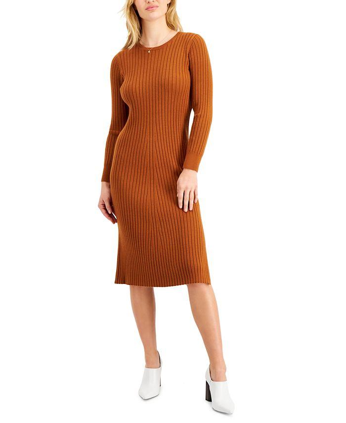 LEYDEN - Ribbed Sweater Dress