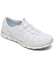 Skechers Women's Gratis - Strolling Walking Sneakers Wide Width from Finish Line