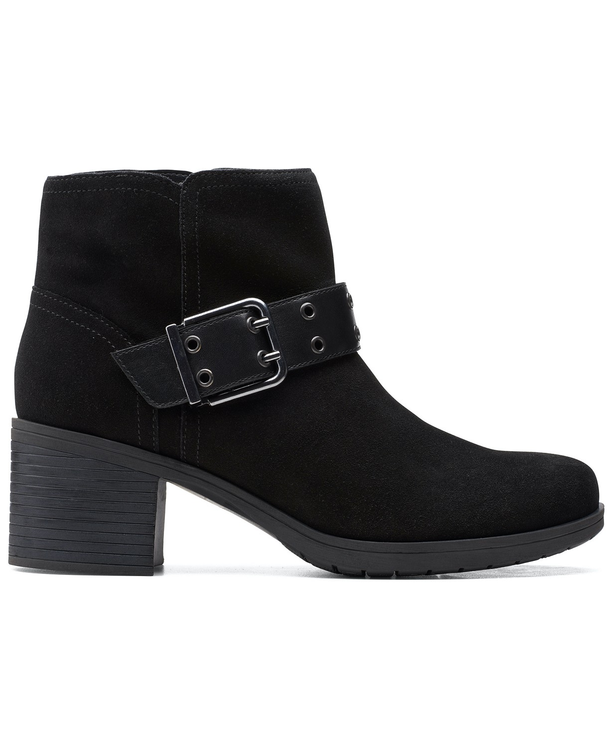 Clarks Women's Hollis Star Buckled Booties