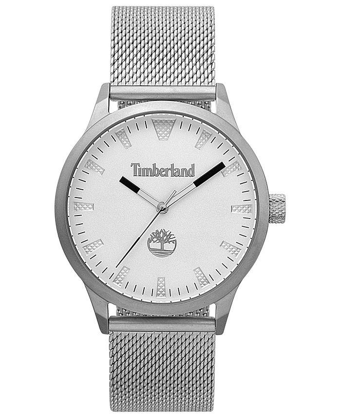 Timberland - Men's Stainless Steel Mesh Bracelet Watch 40mm