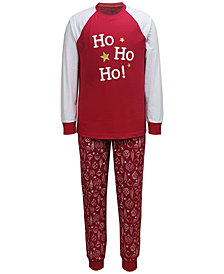 Matching Men's Ornament-Print Family Pajama Set, Created for Macy's