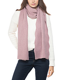 INC Chevron Knit Muffler Scarf, Created for Macy's