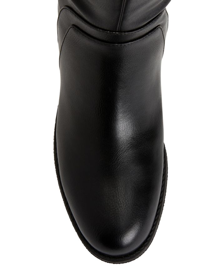 Style & Co Garrigan Riding Boots, Created for Macy's & Reviews - Boots - Shoes - Macy's