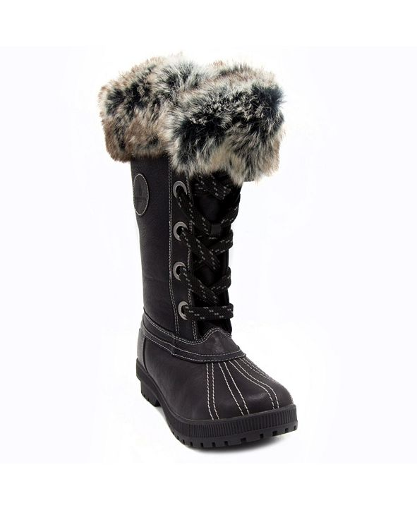 London Fog Women's Melton 2 Cold Weather Tall Boot