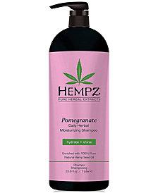 Hempz Pomegranate Herbal Shampoo, 33-oz., from PUREBEAUTY Salon & Spa