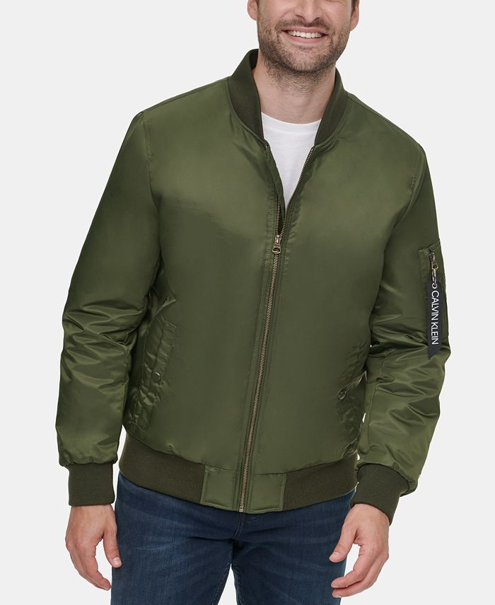 Calvin Klein - Men's Bomber Flight Jacket