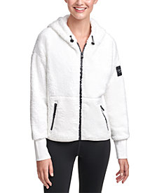 Calvin Klein Performance Fleece Hooded Jacket