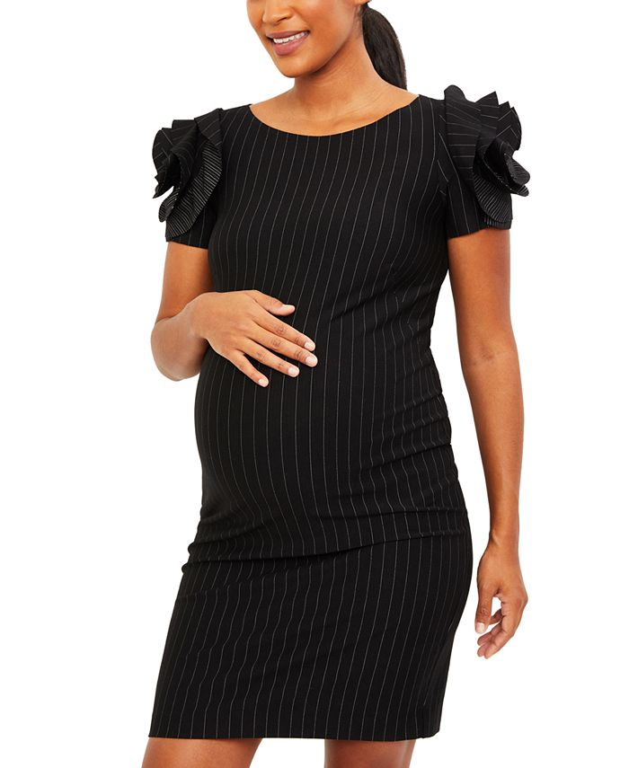 Pietro Brunelli - Maternity Ruffled Sheath Dress
