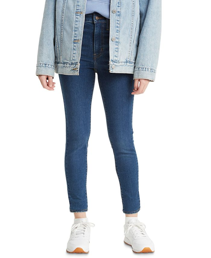 Levi's - Mile High Ink Night Wash Super Skinny Jeans