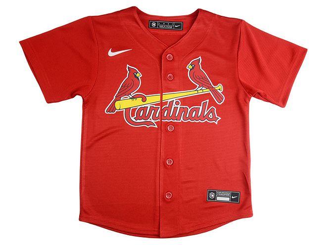 Lids Nike St. Louis Cardinals Kids Official Blank Jersey