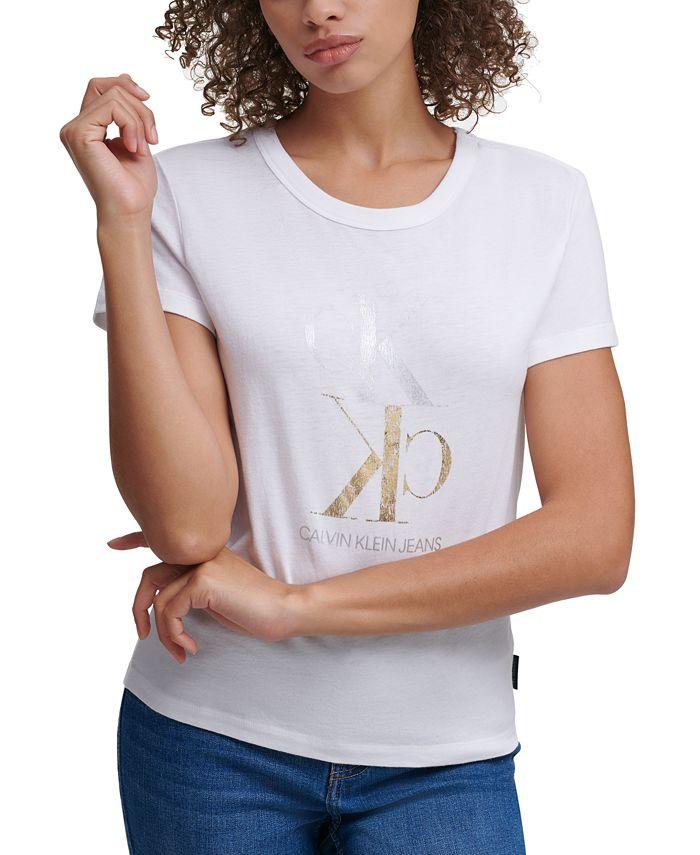 Calvin Klein Jeans - Foil Logo Crewneck T-Shirt