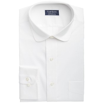 Club Room Men's Classic/Regular-Fit Performance Stretch Solid Dress Shirt
