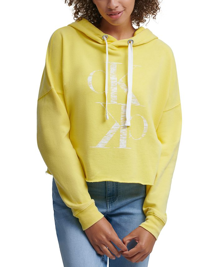 Calvin Klein Jeans - Distressed Logo Hoodie