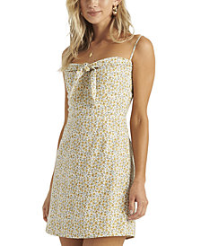 Billabong Juniors' Tie-Front Mini Dress
