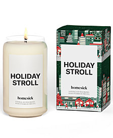 Homesick Candles Holiday Stroll Soy Candle