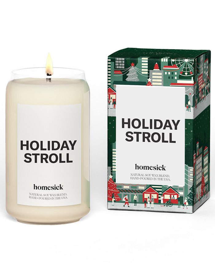 Homesick Candles - Holiday Stroll Candle