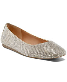 INC International Concepts Juney Rhinestone Flats, Created for Macy's