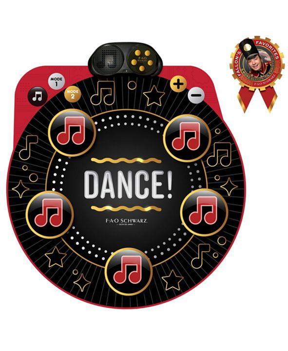 FAO Schwarz Toy Dance Mixer Game Playmat Dance