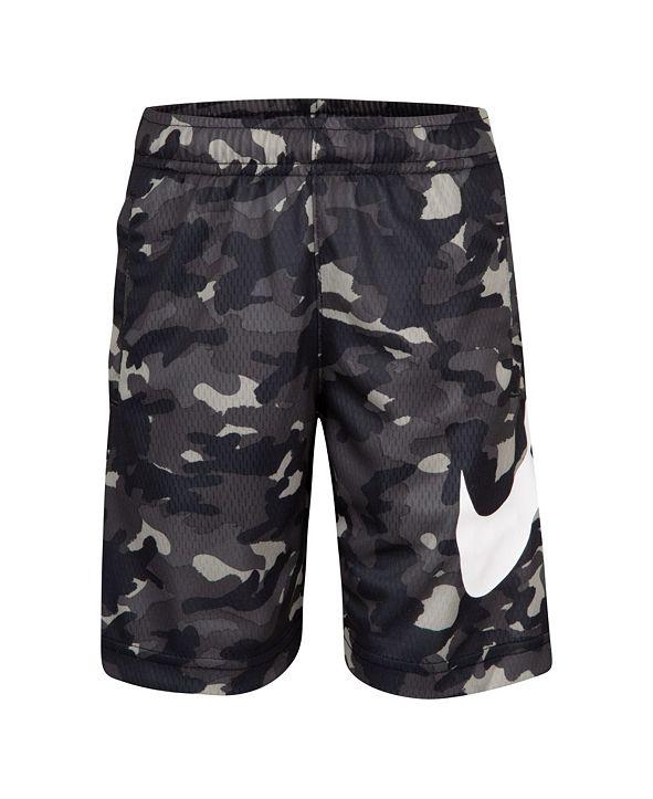 Nike Toddler Boys Dri-FIT Camo Print Shorts